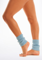 Tappers & Pointers Kids Legwarmers Blue. [Blue]