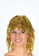 Tinsel Wig Gold. [Gold]