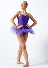 Alegra Basic Camisole Tutu Black. [Purple]