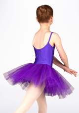 Alegra Basic Kids Camisole Tutu White. [Purple]
