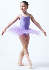 Alegra Basic Kids Camisole Tutu Purple. [Purple]