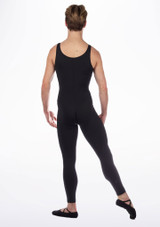 Move Men's Oliver Unitard Black back. [Black]