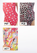 Alegra Girls Patterned Betty Crop Top colour swatch #5.