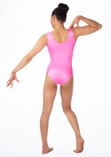 Alegra Girls Cascade Sleeveless Leotard Pink #2. [Pink]