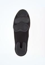 Move Premium Sneaker Style Split Sole Jazz Shoe Black sole. [Black]