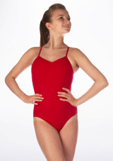 Move Dance Hope Leotard Red front. [Red]