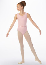 Move Jessica Leotard NEW Pink front #2. [Pink]