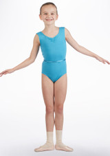 Move Jessica Leotard NEW Blue front. [Green]