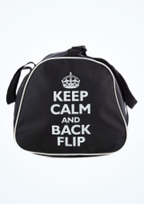 Tappers & Pointers Keep Calm and Flip Holdall Black #2. [Black]