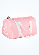 Tappers and Pointers Keep Calm and Dance Holdall Pink. [Pink]