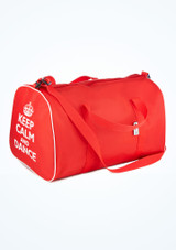 Tappers and Pointers Keep Calm and Dance Holdall Red. [Red]