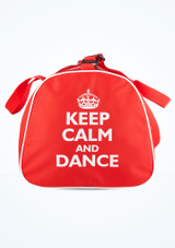Tappers and Pointers Keep Calm and Dance Holdall Red #2. [Red]