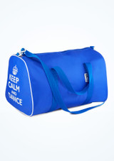 Tappers and Pointers Keep Calm and Dance Holdall Blue. [Blue]