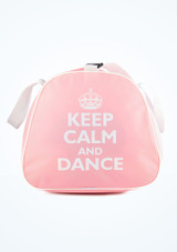 Tappers and Pointers Keep Calm and Dance Holdall Pink #2. [Pink]
