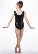 Tappers & Pointers GYM41 Gymnastics Leotard Green back. [Green]
