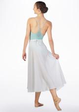 Grishko Long Ballet Skirt White back. [White]