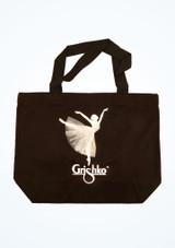 Grishko Ballerina Tutu Shoulder Bag Black-White front. [Black-White]