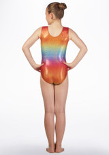 Tappers and Pointers GYM47 Gymnastics Leotard Multi-color Multi-Colour back. [Multi-Colour]