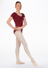 Move Dance Poppy Leotard Red front. [Red]