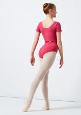 Move Dance Poppy Leotard Pink back. [Pink]