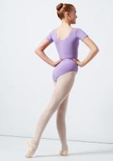 Move Dance Poppy Leotard Purple back #2. [Purple]