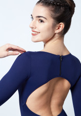Intermezzo Long Sleeve Open Back Leotard