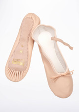 Freed Full Sole Leather Ballet Shoe Pink #2. [Pink]
