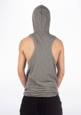 Dincwear Mens Muscle Back Sweat Top Grey [Grey]