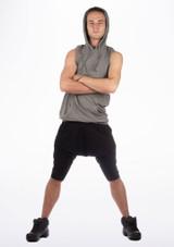 Dincwear Mens Muscle Back Sweat Top Grey [Grey]