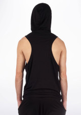 Dincwear Mens Muscle Back Sweat Top Black [Black]