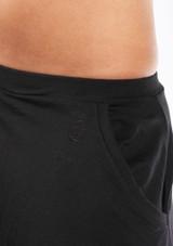 Dincwear Unisex Harem Pants Black #2. [Black]