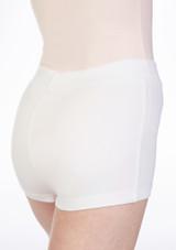 Move Thalia Girls Shorts White. [White]