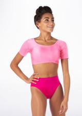 Alegra Shiny Odele Top Pink front #3.