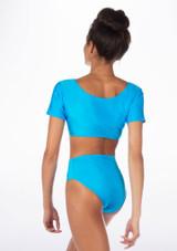 Alegra Shiny Odele Top Blue back.