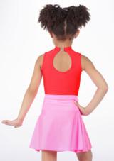 Alegra Shiny Mid Circle Skirt Pink #3. [Pink]