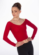 Repetto Short Tights Top Red.