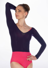 Repetto Short Tights Top Blue. [Blue]