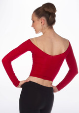 Repetto Short Tights Top Red #2.
