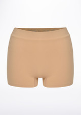 Repetto Seamless Shorts Tan front. [Tan]
