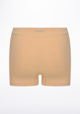 Repetto Seamless Shorts Tan back. [Tan]