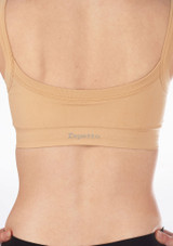 Repetto Seamless Crop Top Tan #4. [Tan]