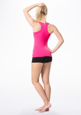 Move Piera Seamless Top Pink back. [Pink]