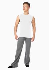 Move Mens Seamless Alvaro Vest White. [White]