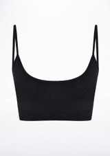 Move 2 Pack Seamless Oriana Bra Black front #2. [Black]