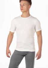 Move Mens Seamless Filipo T-Shirt White. [White]