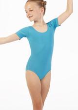 Move Freya Leotard NEW Blue front. [Green]