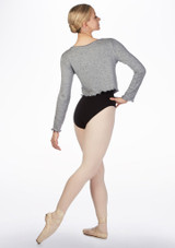 Intermezzo Supersoft Ballet Sweater Grey back. [Grey]