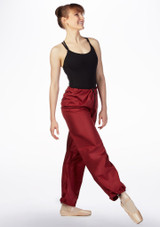 Grishko Sweat Warm Up Pants Red front #2. [Red]