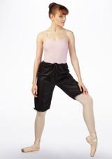 Grishko Sweat Warm Up Shorts Black front. [Black]