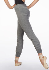 Intermezzo Warm Up Pants Grey front. [Grey]